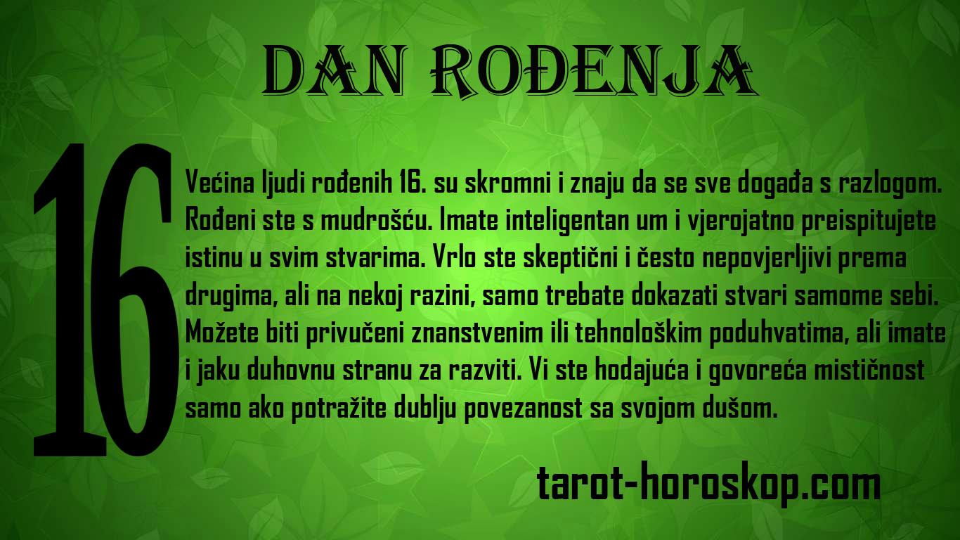 DAN RODENJA 16