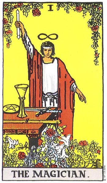 Tarot karta Carobnjak