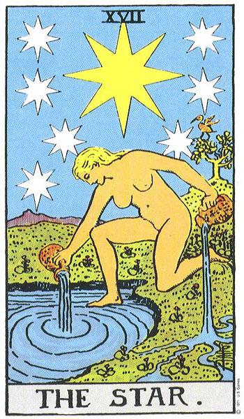 Tarot karta Zvijezda