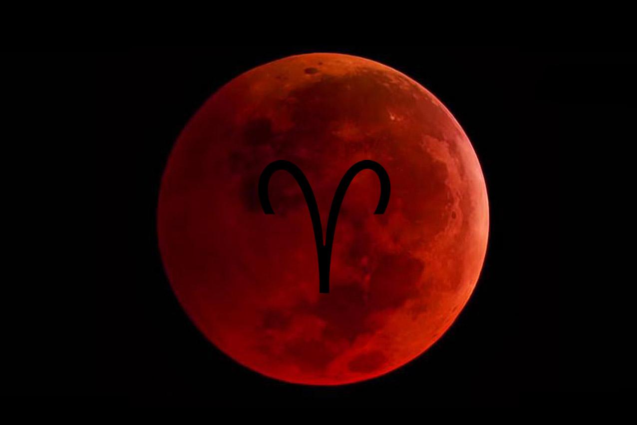 Krvavi Mjesec, Pun Mjesec u Ovnu